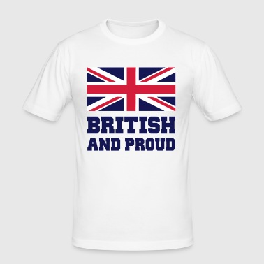 British - Men's Slim Fit T-Shirt