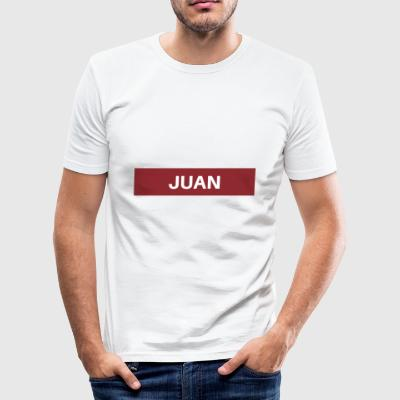Juan - Männer Slim Fit T-Shirt