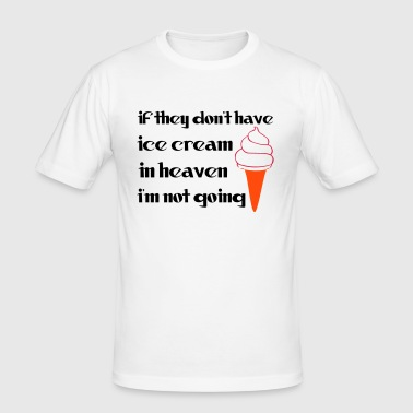 Ice Cream - Slim Fit T-skjorte for menn