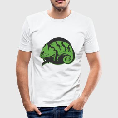 Leguan - Männer Slim Fit T-Shirt