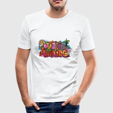 kumbia queers - Männer Slim Fit T-Shirt