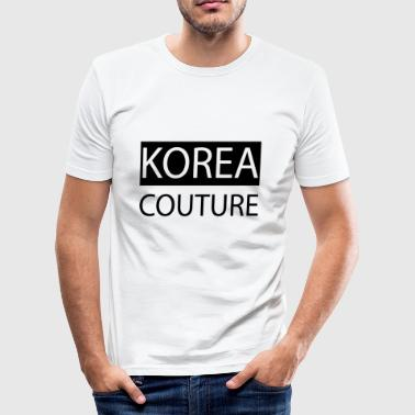 Korea Couture - Slim Fit T-skjorte for menn