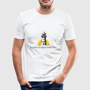 A light to rule them all - Men's Slim Fit T-Shirt