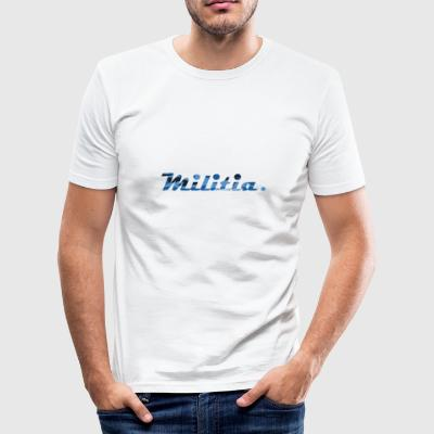 blue militia - slim fit T-shirt