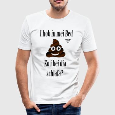 ShitPickUpLine - Männer Slim Fit T-Shirt