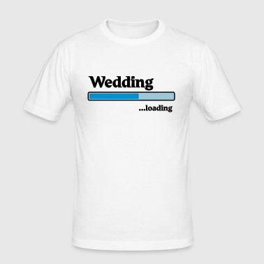 Wedding loading - Männer Slim Fit T-Shirt