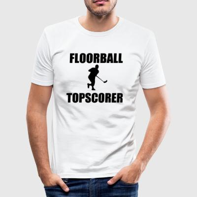 Floorball - Herre Slim Fit T-Shirt