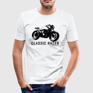 MP CLASSIC RACER - Herre Slim Fit T-Shirt