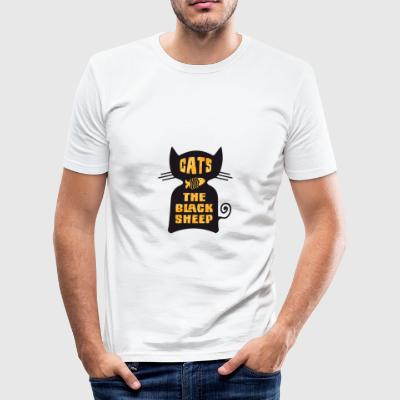 CATS - The Black Sheep - slim fit T-shirt