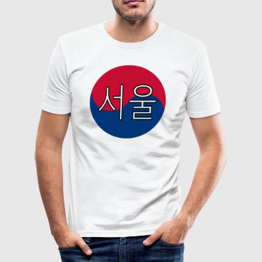 Seoul (Koreaans) - slim fit T-shirt