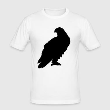 eagle - Männer Slim Fit T-Shirt