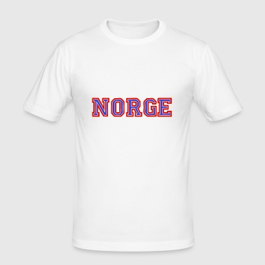 NORGE - Men's Slim Fit T-Shirt
