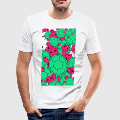 Turtle v2 - Slim Fit T-skjorte for menn