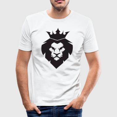 Löwe Icon - Männer Slim Fit T-Shirt