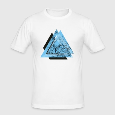 AD Triangle Black - Men's Slim Fit T-Shirt