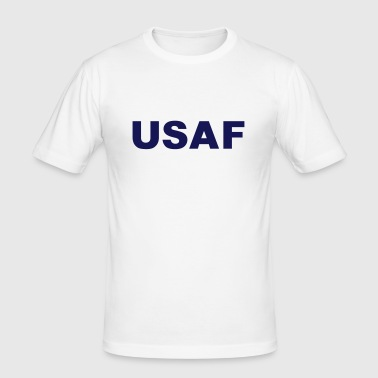 Airman Basic AB, US Air Force, Mision Militar ™ - Men's Slim Fit T-Shirt
