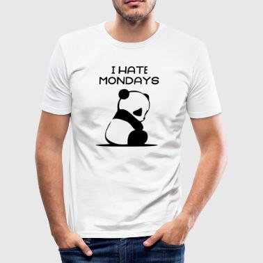I Hate Mondays - Herre Slim Fit T-Shirt