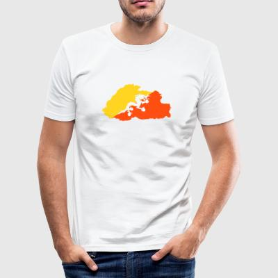 bhutan - Men's Slim Fit T-Shirt