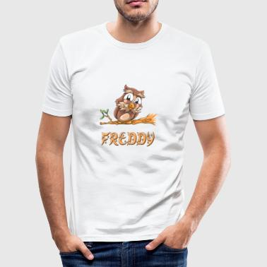 Owl Freddy - Slim Fit T-skjorte for menn