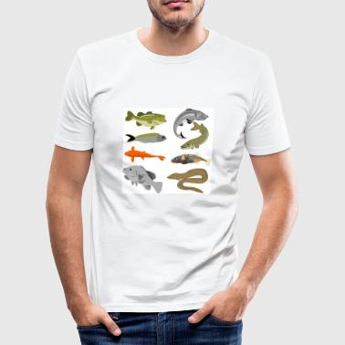 fish - Men's Slim Fit T-Shirt