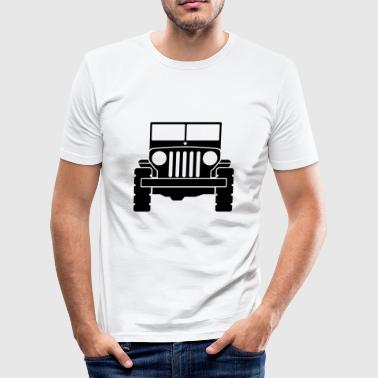 Jeep - SUV - Men's Slim Fit T-Shirt