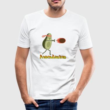avocadouken - Slim Fit T-shirt herr