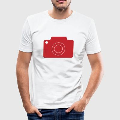 Fotoapperat - Herre Slim Fit T-Shirt