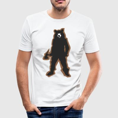 Killa Bear - Men's Slim Fit T-Shirt