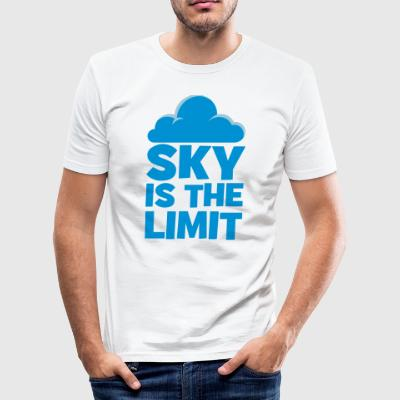 sky is the limit - slim fit T-shirt