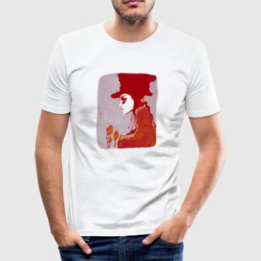 DER_HUTMACHER_RED_2 - Slim Fit T-shirt herr