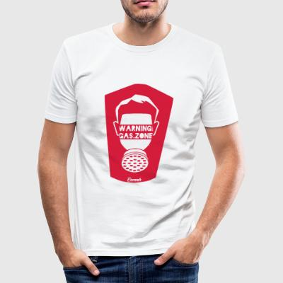 Varning! (H) - Slim Fit T-shirt herr