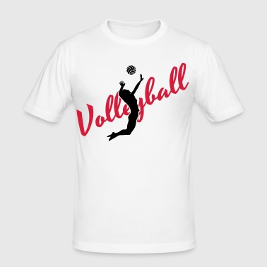 Volleyball - Men's Slim Fit T-Shirt