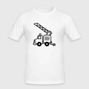 Fire Department pumper - Men's Slim Fit T-Shirt