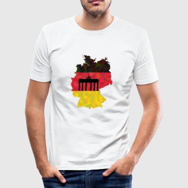 Germany - Men's Slim Fit T-Shirt