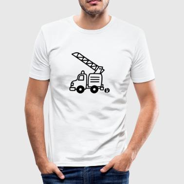 Brandweer pumper - slim fit T-shirt