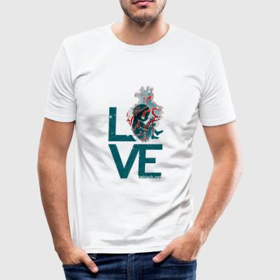 Techeart_LOVE - slim fit T-shirt