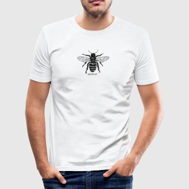 ÐĒŠĒÀŤ BUG - Männer Slim Fit T-Shirt