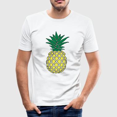 Funky pineapple - Men's Slim Fit T-Shirt