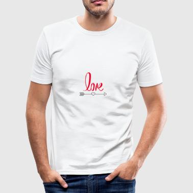 Love design - Men's Slim Fit T-Shirt