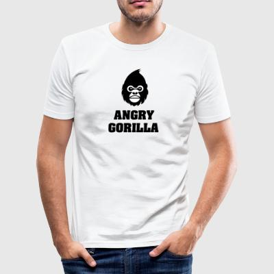 angry_gorilla - Tee shirt près du corps Homme