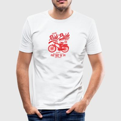 Ride With Pride2 - Männer Slim Fit T-Shirt