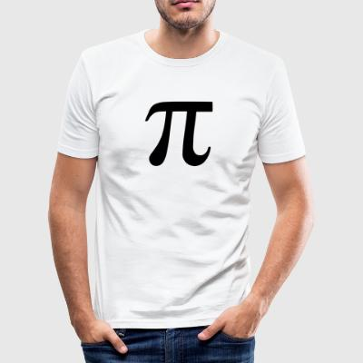 pi symbol - Männer Slim Fit T-Shirt