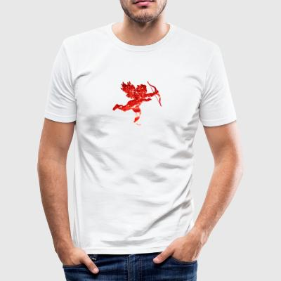 Cupido - Männer Slim Fit T-Shirt