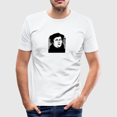 Martin Luther - Herre Slim Fit T-Shirt
