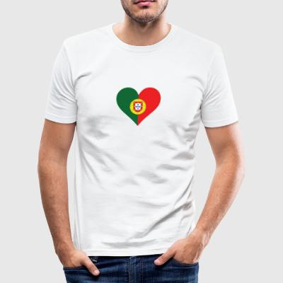 A Heart For Portugal - Men's Slim Fit T-Shirt