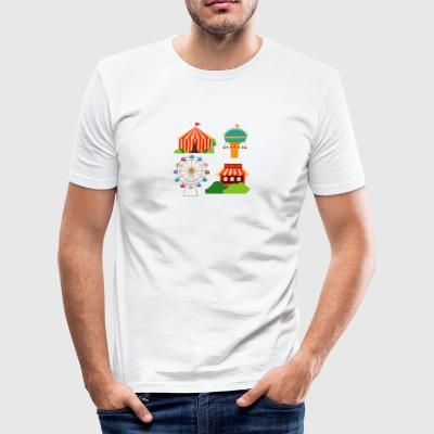 funfair - Men's Slim Fit T-Shirt