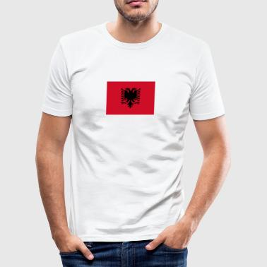 albanian balkan Albana - Slim Fit T-skjorte for menn