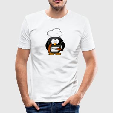 Karikatur-Pinguin 23 - Männer Slim Fit T-Shirt