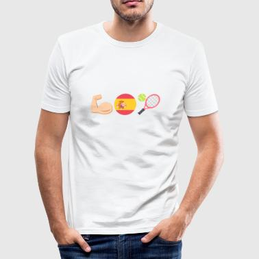 Vamos Rafa! - Herre Slim Fit T-Shirt