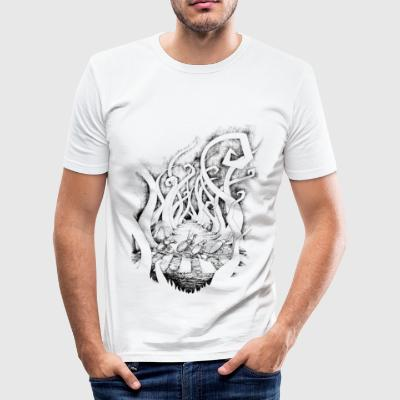 Beetles Abbey GrassRoad - Men's Slim Fit T-Shirt